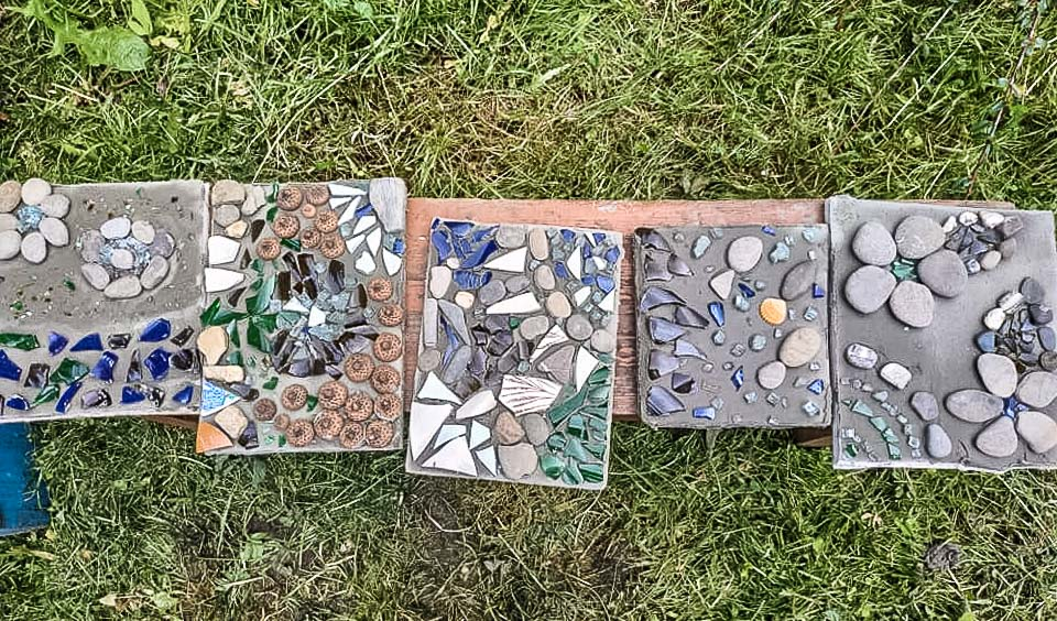 Майстер - клас з мозаїки «Цікава садиба»