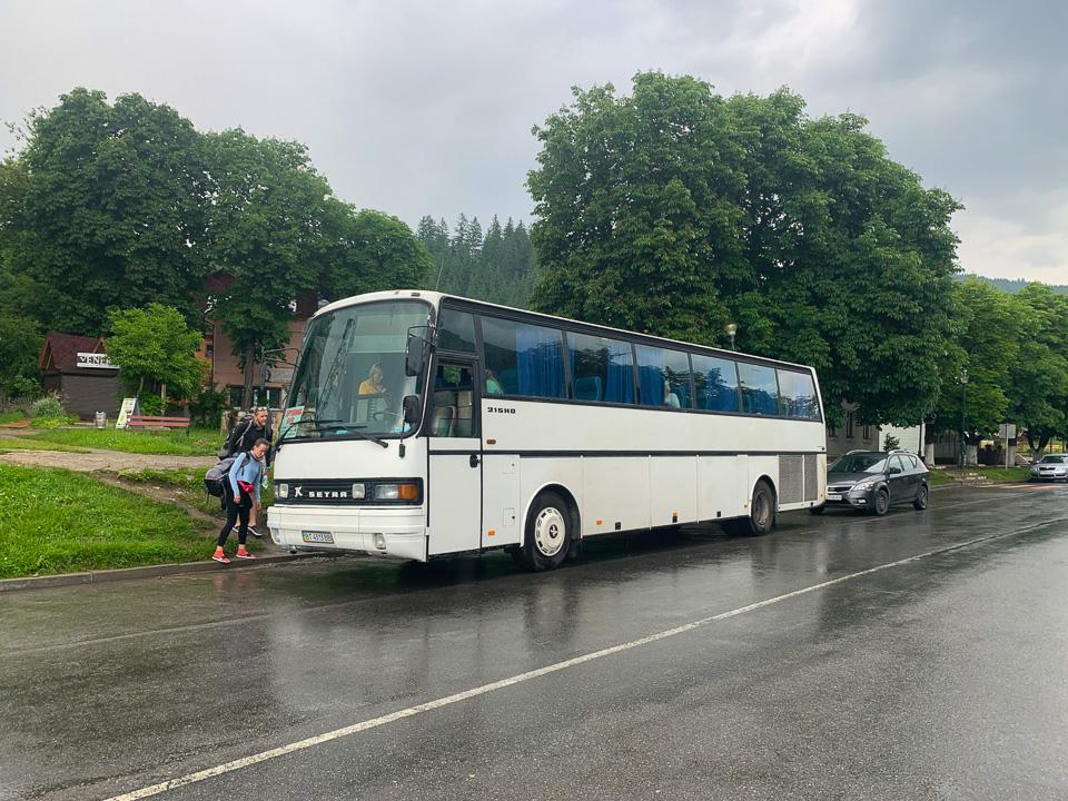НОВИЙ автобусний маршрут Київ - Верховина - Київ
