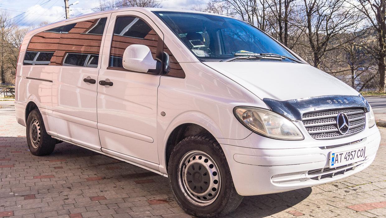 Транспорт Верховина «Mercedes Vito»