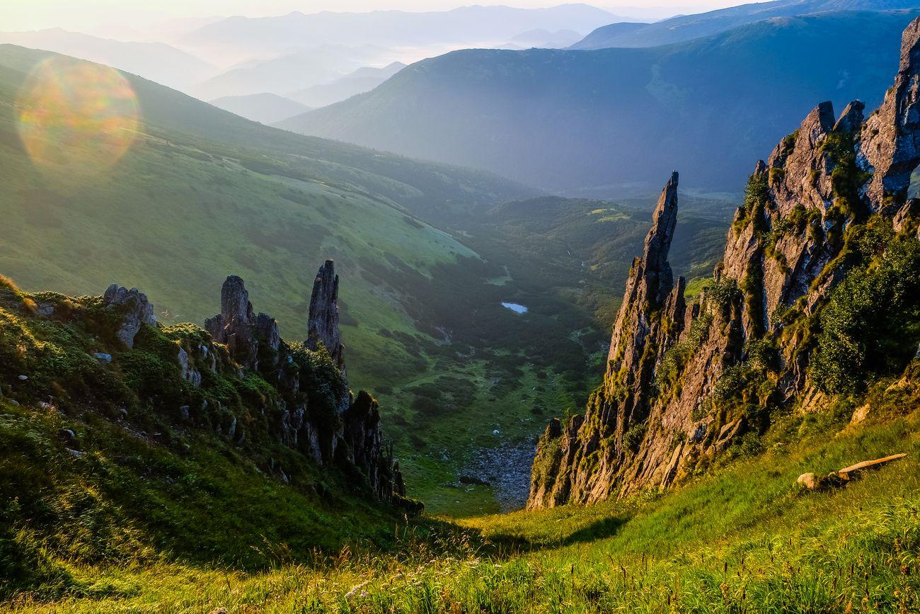 Похід на гору Шпиці через озеро Несамовите