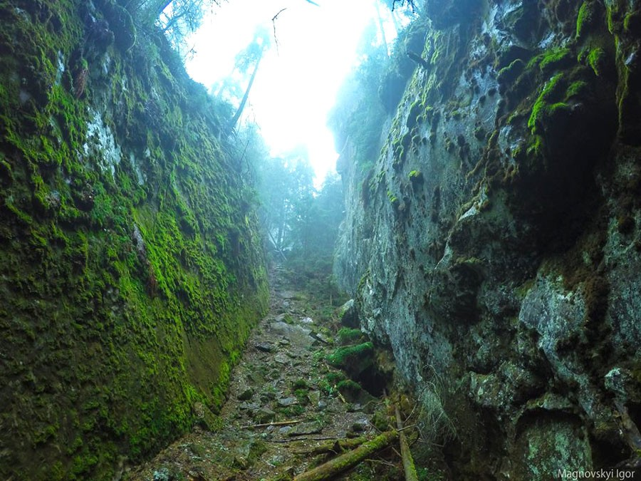 Скельно-печерний комплекс на Синицях – святилище Довбушеві Комори, фото-3