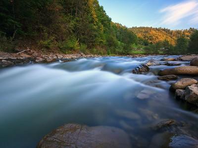 Чорний Черемош - священна ріка гуцулів