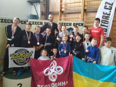 Верховинці зібрали на чемпіонаті з Джиу-джитсу у Чехії «Золото», «Срібло» та «Бронзу»