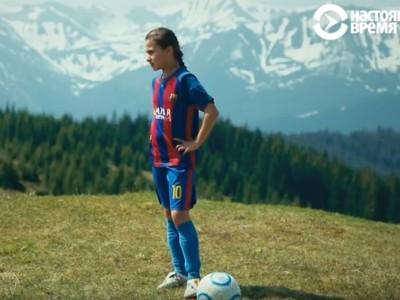 Леся Словак з Верховини щодня їздить за 40 км у спортивну школу, щоб стати великою футболісткою