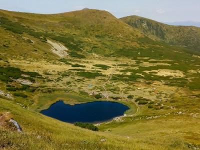 Озеро Несамовите - там, де народжується град