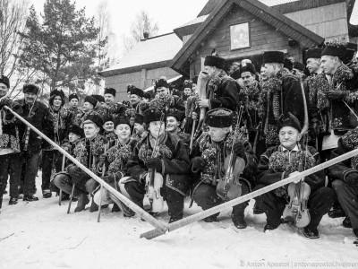 Гуцульська коляда у Криворівні
