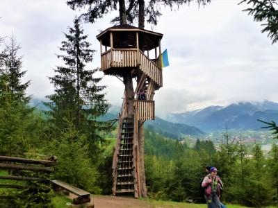Оглядова вежа Верховина