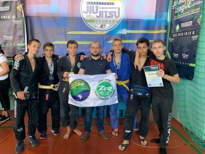 6 медалей та перше командне місце привезли додому Верховинські джитсери
