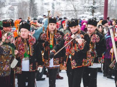 Водохреща у гуцульському селі Криворівня - 2020