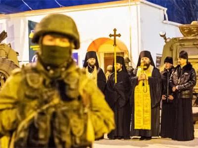 Анексувати Крим допомагали священники РПЦ